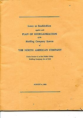 Old annual report THE NORTH AMERICAN COMPANY 1943