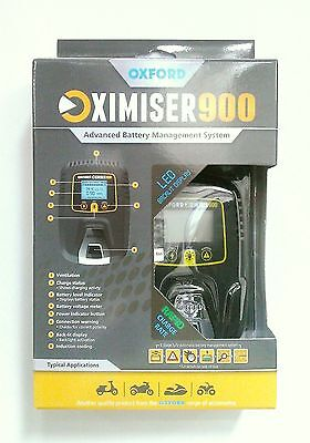 Oxford Oximiser 900 2015 Edition Motorcycle Battery Charger