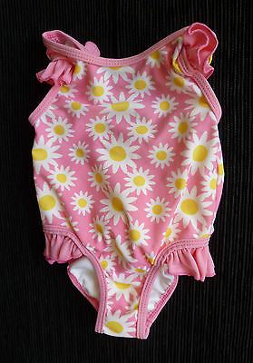 Baby clothes GIRL 3-6m swimsuit pink, white/yellow daisies SEE SHOP! COMBINE!