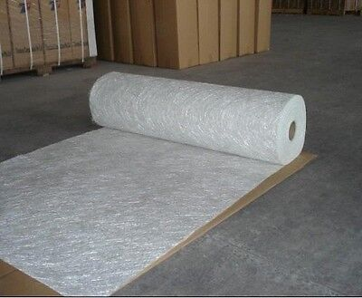 "fiberglass chopped strand mat 3/4oz , 0.75oz  30ft (10 Yards) long 50""  folded"