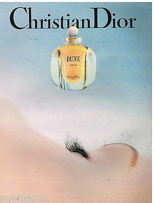 Publicité Advertising 1991 Parfum Dune par Christian Dior