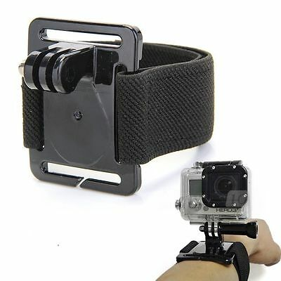 GoPro Wrist Strap Mount for HD Hero 1 2 3 + Camera Holder Arm Band Belt Handle