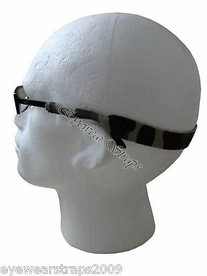 Dark Camouflage Neoprene Sunglasses / Glasses / Spectacles Head Band Strap Cord