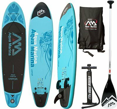 AQUA MARINA SPK-2 Vapor SUP inflatable Stand Up Paddle Surfboard