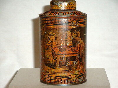 Antiques Schepp'S Cocoanut Tin Rare Kitchen Item