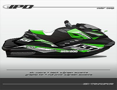 IPD TS Design Graphic Kit for Sea Doo RXP-X 260