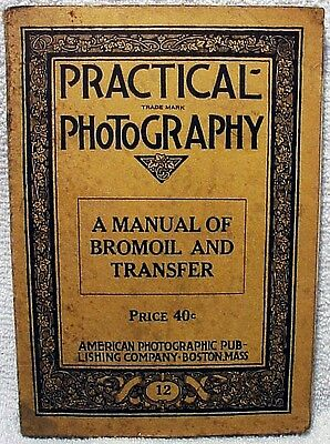 Practical Photography A Manual of  Bromil../1927/original 1st Ed | Fairly rare l