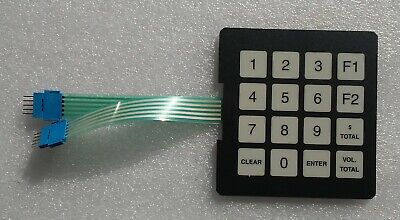 Gilbarco T17549-G1 programmable keypad for several models, pacakage of 6, $10 ea