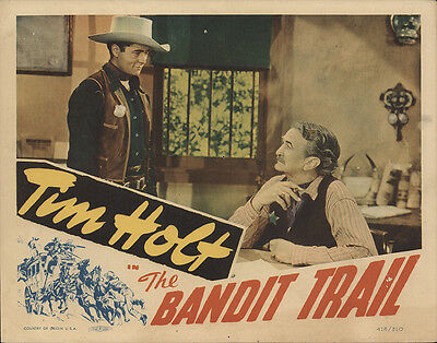 The Bandit Trail 1941 Original Movie Poster Action Adventure Comedy