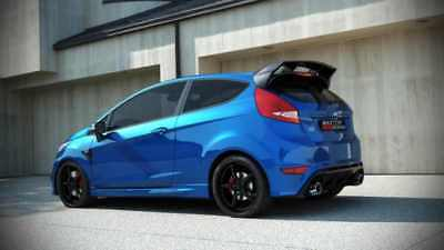 BODY KIT FORD FIESTA MK7 FACELIFT  FOCUS RS LOOK  2013-up