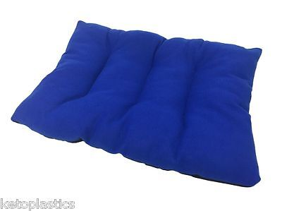 Medium Blue Pet / Cat / Dog Cushion / Dog Bed / Floor Cushion / Fleece / Basket