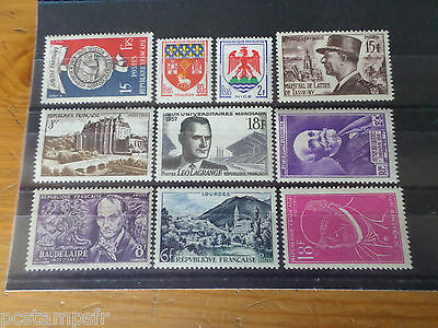 FRANCE, LOT AR timbres années '40/'50, neufs** LUXE, MNH STAMPS