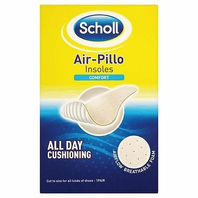 Scholl Footcare - Air-Pillo Comfort Unisex Cut To Size Non Wrinkle Non Slip