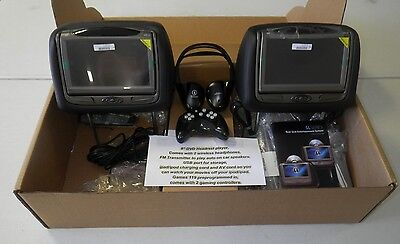 "8"" Dual DVD HDMI FactoryMatch Replacement Headrest System"