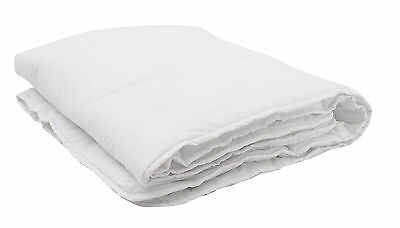 Baby Cot Bed Duvet /Quilt 4.5/7.5/9.0 Togs 120x150 White
