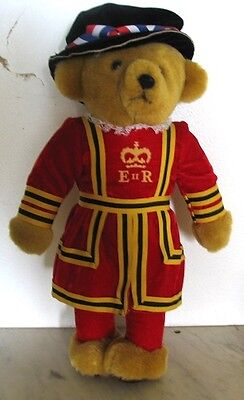 MERRY THOUGHT Royal Guard Beefeater Bear Made in England