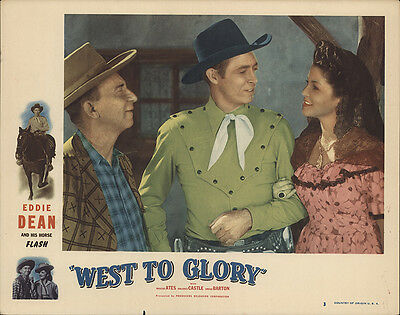 West to Glory 1947 Original Movie Poster Action Adventure Music