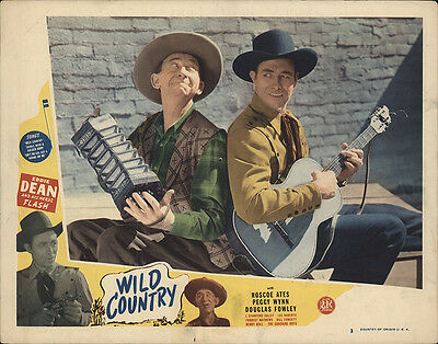 Wild Country 1947 Original Movie Poster Action Adventure Music