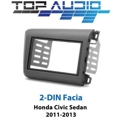 Honda Civic stereo radio Double 2 Din fascia dash panel facia trim plate