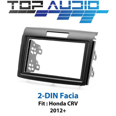 Honda CRV car stereo radio Double 2 Din fascia dash panel facia kit trim