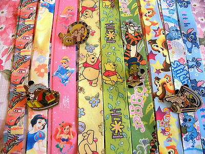 Disney Pin Lanyard Trading Dlr Dwr Starter Set Stitch Tigger Princess Chip Dale
