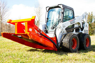 Brush Mower for Skid Steer Loaders & Bobcat machines - For Machines w/ 32-40 GPM
