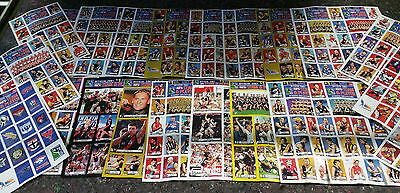 2001 OFFICIAL AFL STICKER BOOK WITH 24 SHEETS UNSTUCK STICKERS x 100 FULL BOOKS