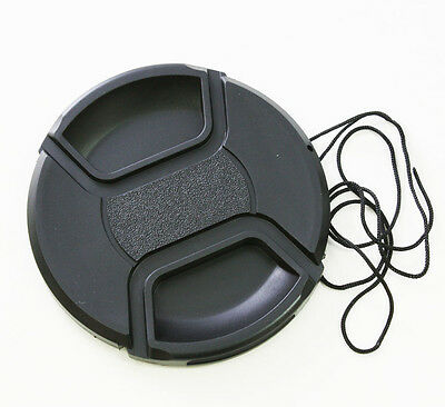 62mm Centre Pinch Snap on Front Lens Cap Cover for DSLR camera Canon Nikon Sony
