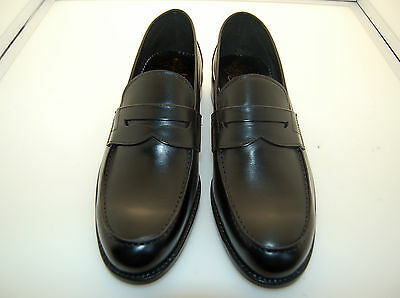 Man- Penny Loafer - Mocassino Vitello Nero - Calf Black - Lth Sole-Blake Cstr