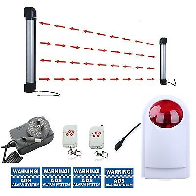 Wireless driveway 2beams 40Meters stand alone alarm system (has 10/40/60 meters)