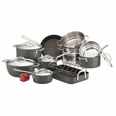 Circulon Commercial - 10 Pc GIANT Hard Anodised Non-Stick Cookware Set
