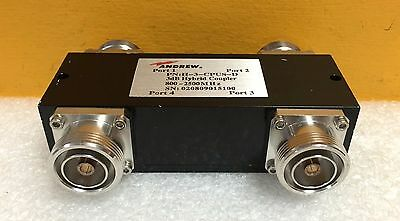 Andrew H-3-CPUS-D, 800 to 2500 MHz, 3 dB, 7/16 DIN, Quadrature Hybrid Coupler