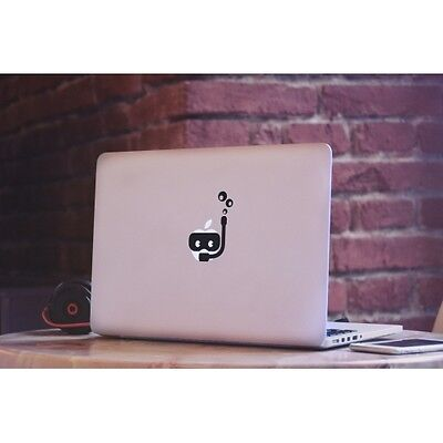 "PLONGEUR Sticker Autocollant VINYL Decal Apple Macbook Pro/Air/Retina 11 13"" 15"""
