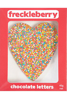 NEW Freckleberry Gifts Choc Freckle Heart Heart