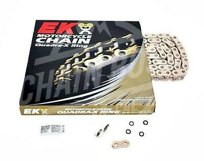 EK Chains 530x150 Links ZVX3 Extreme Sport Series Sealed NX-ring Gold Chain