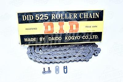 DID 525 x 130 Links Standard Series  Non Oring Natural Drive Chain