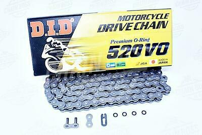 DID 520x120 Links VO Pro Series Sealed O-ring Natural Chain