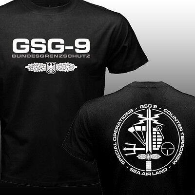 New GSG 9 Germany swat Counter Terrorism Special Operations Unit Police T-shirt
