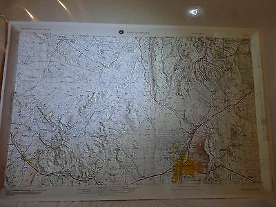 Vtg Albuquerque New Mexico NM Map 3-D Hubbard 1963-83 dMATC USA Defense mapping