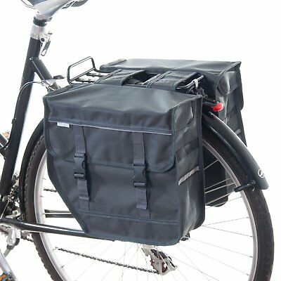 Beluko M Double Pannier Bag Bicycle Cycle Bike Shopping Commuters