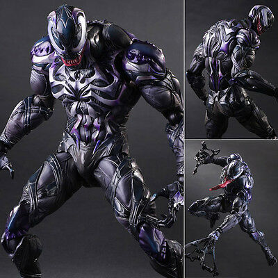 Play Arts Kai Venom Marvel Variant Action Figure Square Enix [PRE-ORDER]