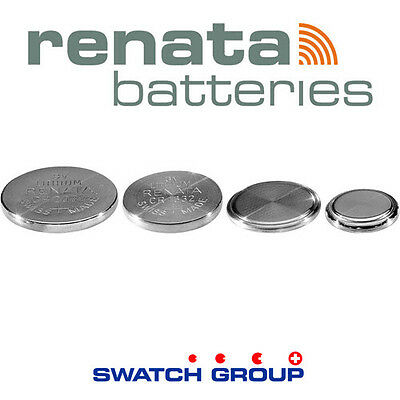 Renata swatch official 3V Lithium Coin Cell - All Sizes - SWISS MADE