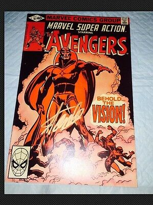 Avengers # 57 (first appearance of Vision) Reprint Hot SIGNED STAN LEE COA VF+