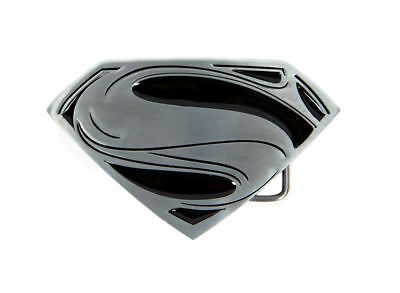 DC Comics Superman Logo Enamel Inlay Belt Buckle