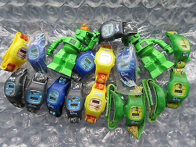 18 Robots Movie Burger King Toys Watches Etc some MIP