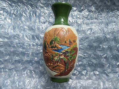 Old Ontario Art Pottery Vase Woodwinds Bobcaygeon
