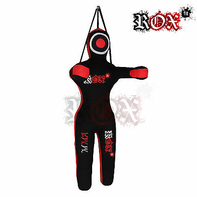 Grappling Dummy ROX Fit Fighting Dummy Training MMA Kickboxing Man shape Hanging