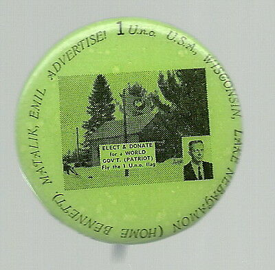 Emil Matalik For President Unusual Third Party Political Pin