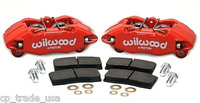 Wilwood Bolt On Dhpa Forged Front Caliper Kit 2002-2003 Honda Civic Si Ep3 Red