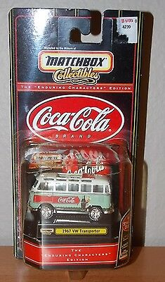 Matchbox Collectibles 1:64 1967 VW Volkswagen Transporter Coca Cola Edition